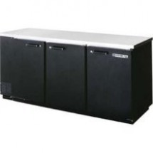 Beverage Air BB78-1-S Stainless Steel 3-Section Refrigerated Backbar Storage Cabinet