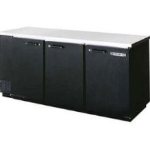 Beverage Air BB78R-1-B Refrigerated Backbar Storage Cabinet with 3 Sections