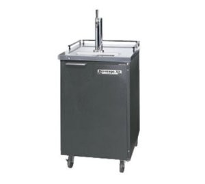 Beverage Air BM23-B-28 Single Keg Portable Draft Beer Cooler with Self-Contained Refrigeration System