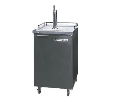 Beverage Air BM23-B Black Vinyl Draft Beer Cooler - 1 Keg Kegerator
