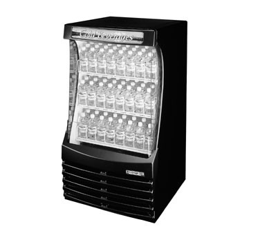 "Beverage Air BZ13-1-B 30"" Special Application Open-Air Merchandiser with 3-adjustable Shelves"