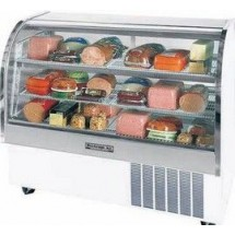 Beverage Air CDR5/1-S-20 Stainless Steel Curved Glass Refrigerated Display Case 61