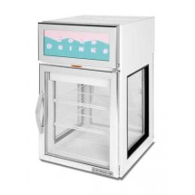 Beverage Air CR5-1W-G Countertop Merchandiser with White Epoxy Exterior
