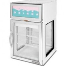 Beverage Air CRD5GE-1W-GS Countertop Merchandiser with a White Epoxy Exterior
