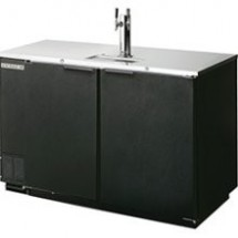 Beverage Air DD50-1-S 2-Keg Draft Beer Cooler