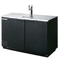 Beverage Air DD50C-1-B 2-Keg Draft Beer Cooler