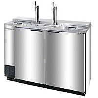Beverage Air DD50C-1-S 2-Keg Draft Beer Cooler
