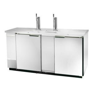 Beverage Air DD58-1-S 3-Keg Draft Beer Cooler