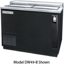 "Beverage Air DW49-S-24 50"" x 26.5"" Flat Top Bottle Cooler"
