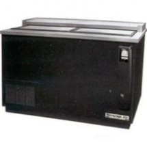 Beverage Air DW49-S Flat Top Black Bottle Cooler