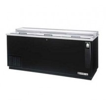 Beverage Air DW79-B-24 3 Door Black Vinyl Bottle Cooler