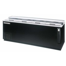 Beverage Air DW94-B-02 4-Door Bottle Cooler with Stainless Top