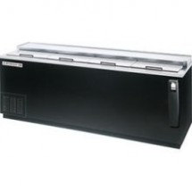 Beverage Air DW94-B Black Vinyl 4-Door Bottle Cooler