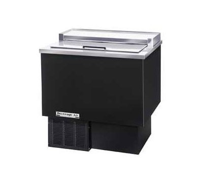 Beverage Air GF34L-B Black Vinyl Underbar Glass Froster