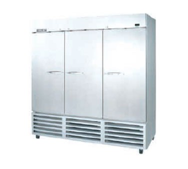 Beverage Air KF74-5AS Three-Section 69.2 cu. ft. Reach-in Freezer