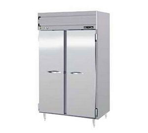 Beverage Air PRF24-24-1AS-02 Full Size 2 Section Dual Temperature Reach-In Refrigerator / Freezer