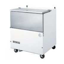 "Beverage Air SM34N-W 34.5"" x 31"" Normal Temp Single Access Milk Cooler"