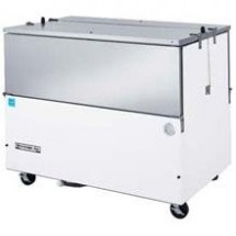 Beverage Air ST49N-S Stainless Steel Normal Temp Milk Cooler with Dual Access