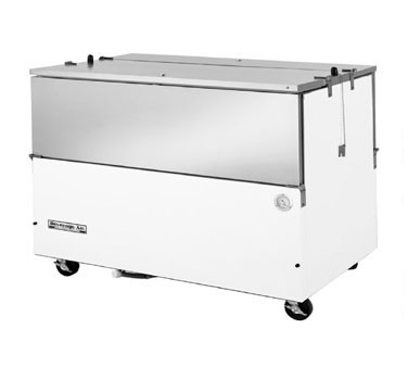 Beverage Air ST58N-W Normal Temp Milk Cooler with Dual Access