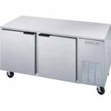 "Beverage Air UCF67A Two-Section 67"" x 32"" Undercounter Freezer"