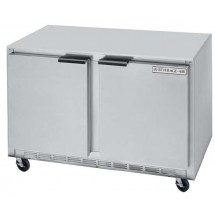 "Beverage Air UCR48A Stainless Steel Rear-Mounted 48"" x 29-1/4"" Undercounter Refrigerator"
