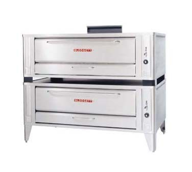 "Blodgett 1060 DOUBLE 60"" Gas Pizza Deck Oven"