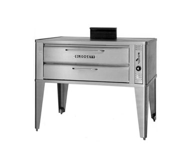 Blodgett 911P SINGLE 51& Single Pizza Deck Oven