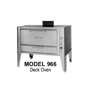 Blodgett 966 DOUBLE Gas Double Deck Oven