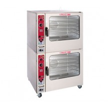 Blodgett BX-14E BL DOUBLE Stacked Electric Combi Boilerless Oven Steamer