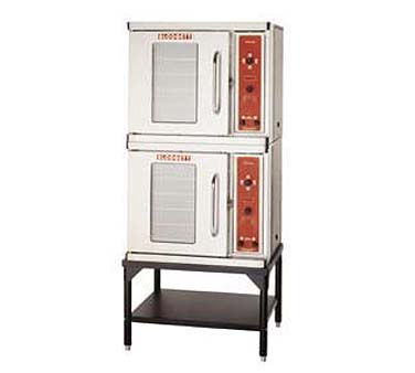 "Blodgett CTB DOUBLE 30"" Double Section Half-Size Electric Convection Oven"