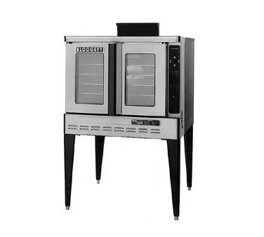 Blodgett DFG100 BASE NG Single Deck Gas Convection Oven (base only), Standard Depth