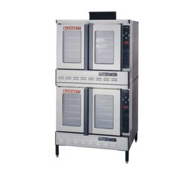 Blodgett DFG100 DOUBLE RI Roll-In Gas Convection Double Deck Oven