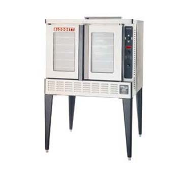 Blodgett DFG200 SINGLE RI Roll-In  Gas Convection Single Deck Oven