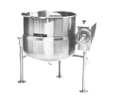 Blodgett KLT-40DS  Direct Steam Tilting Kettle 40 Gallon