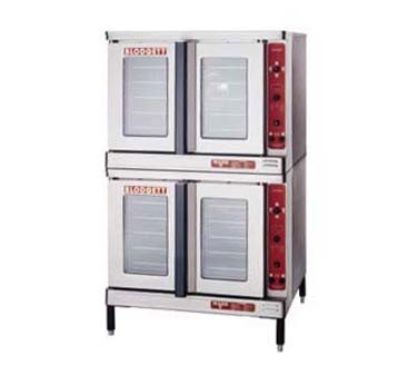 Blodgett MARK V DOUBLE RI Roll-In Electric Convection Double Deck Oven