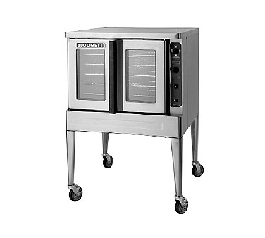 Blodgett MARKVXCELRI SGL Xcel Roll-In Electric  Single Deck Oven Convection