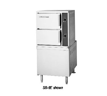 "Blodgett SB-6E Convection Steamer Electric Convection Steamer on 24"" Electric Boiler Base"