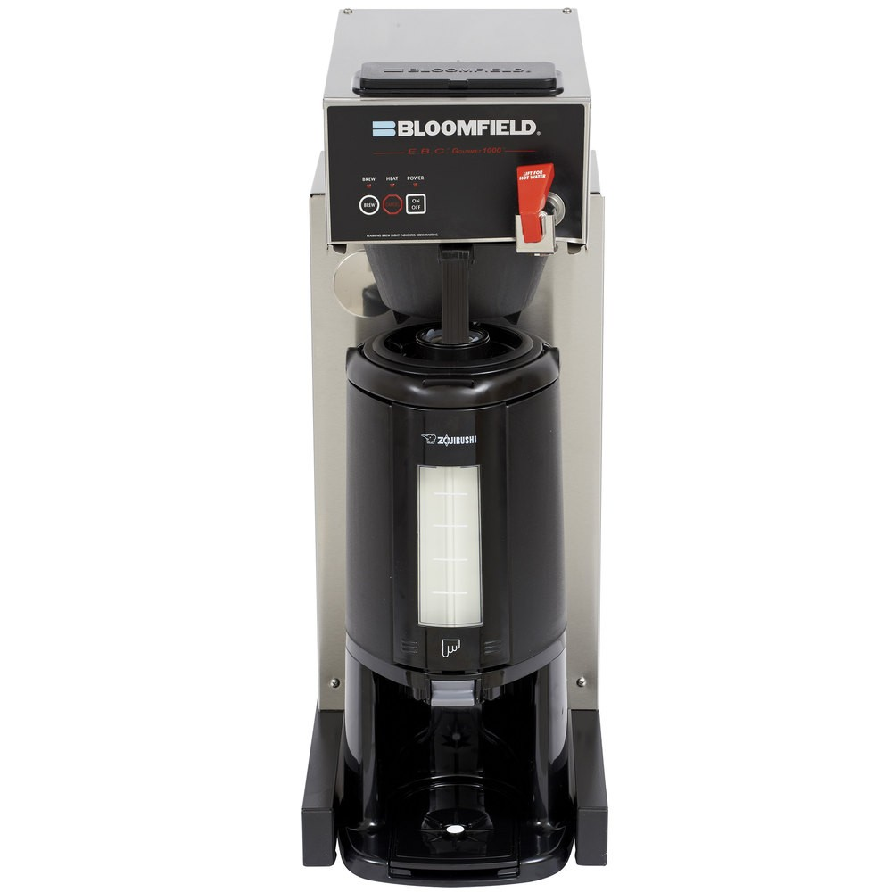 Bloomfield 1080TF 1800W E.B.C Automatic Thermal Coffee Brewer with Faucet