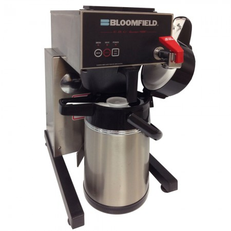 Bloomfield 1086TF-240V E.B.C Electronic Extra-Low Thermal Coffee Brewer with Faucet 1800W