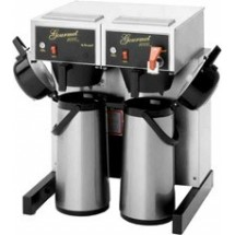 Bloomfield 8792AF 4000W Dual Automatic Airpot Coffee Brewer with Faucet