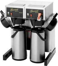 Bloomfield 8792AF-240V Dual Automatic Airpot Coffee Brewer with Faucet 4000W