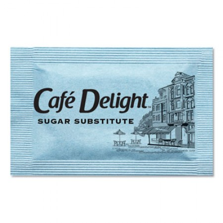 Blue Sweetener Packets, 0.08 g Packet, 2000 Packets/Box
