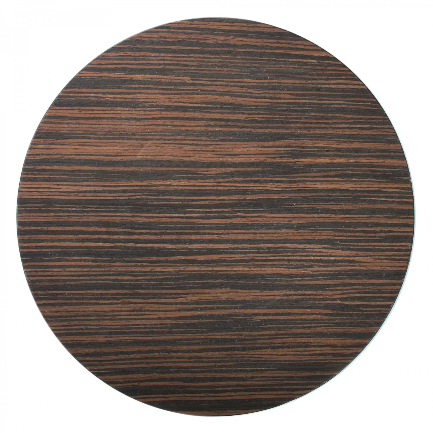 The Jay Companies 1270002 Round Brown Pine Faux Wood Charger Plate 13""