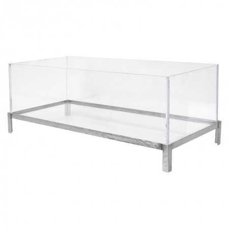 """Buffet Enhancements 010BDG36 Stainless and Glass Iced Beverage Display 36"""""""