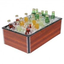 Buffet Enhancements 010BFA26 Large Folding Iced Beverage Display