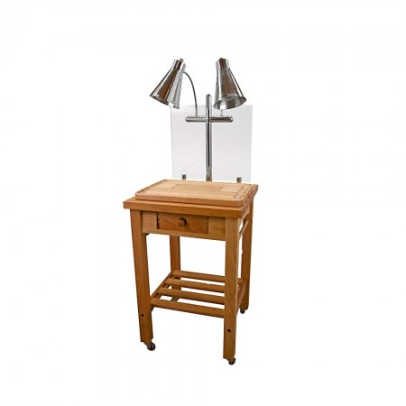 Buffet Enhancements 010HCC Maple Butcher Block Carving Station