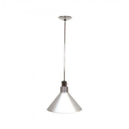 Buffet Enhancements 010HHW-SS Hanging Heat Lamp with Stainless Steel Finish Shade 10""