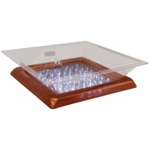 "Buffet Enhancements 010LCS22LED-CP 22"" LED Lighted Ice Display with Copper Base"