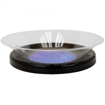 Buffet Enhancements 010LCS30LED-BK Round LED Lighted Ice Display with Black Base 30""