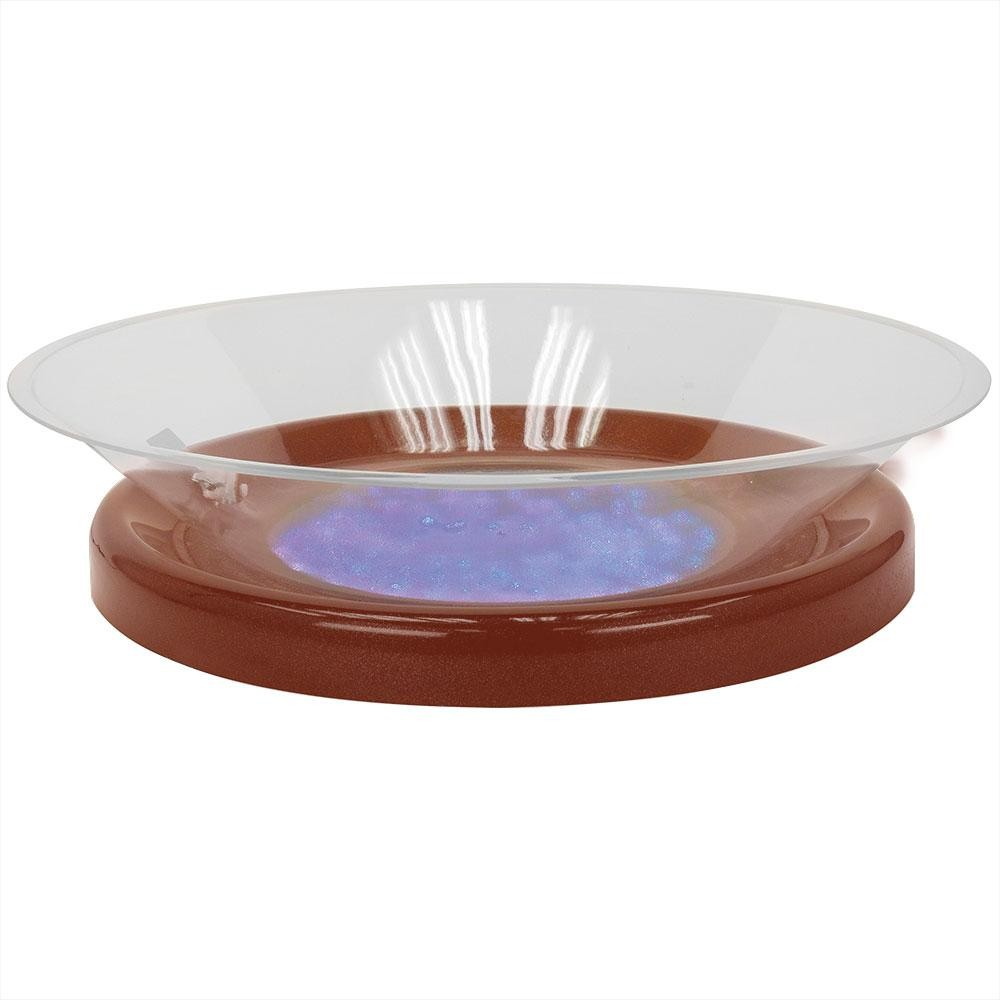 "Buffet Enhancements 010LCS30LED-CP 30"" LED Lighted Ice Display with Copper Base"